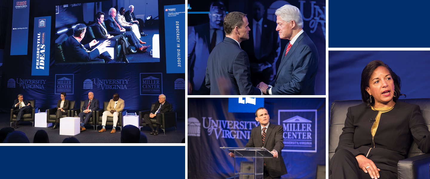 UVA A&S Collage of Speakers