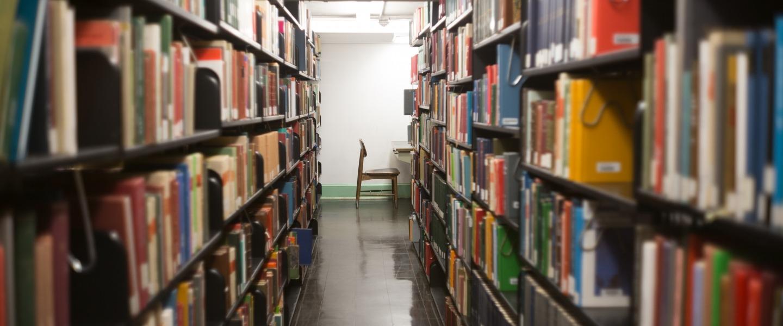 Alderman Library Stacks